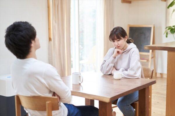 夫婦間の話し合い